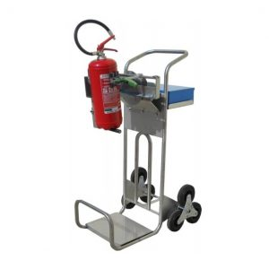 CADDIE Bench Trolley for Extinguisher Service