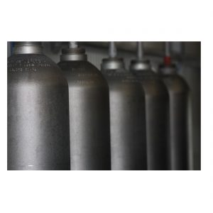 Gas cylinder outer cleaning