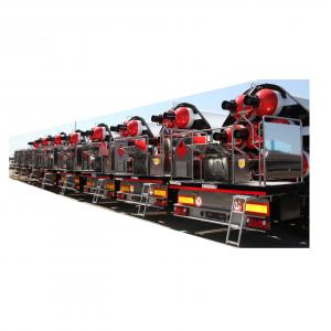 Gázszállító trailer, ISO konténer