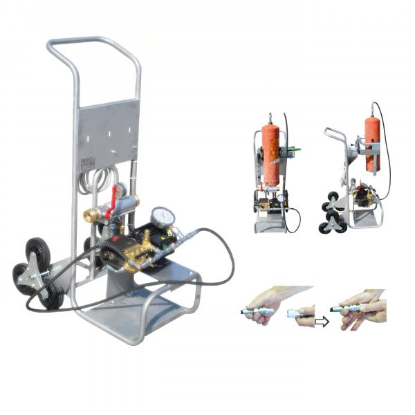 N7/1 FH-E - elektronikus nyomópumpa tűzoltókészülékekhez