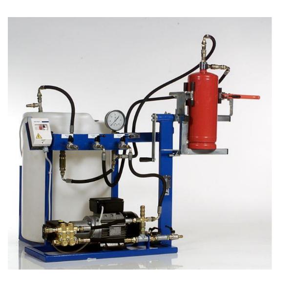 HT 35 - Porraloltó víznyomáspróba egység