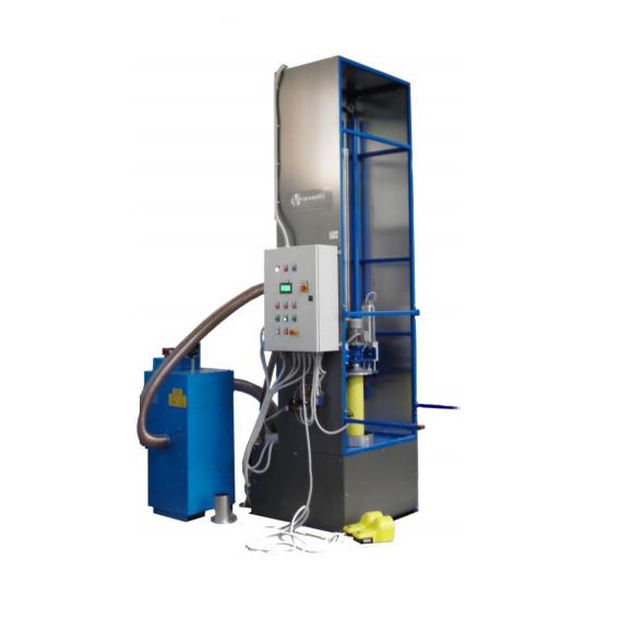 ICS 1850 modell automata gázpalack belső tisztító gép