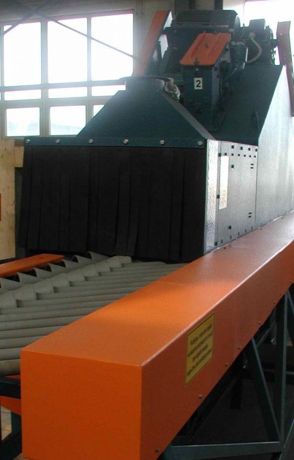 CST-300 horizontális folyamatos gázpalack sörétező
