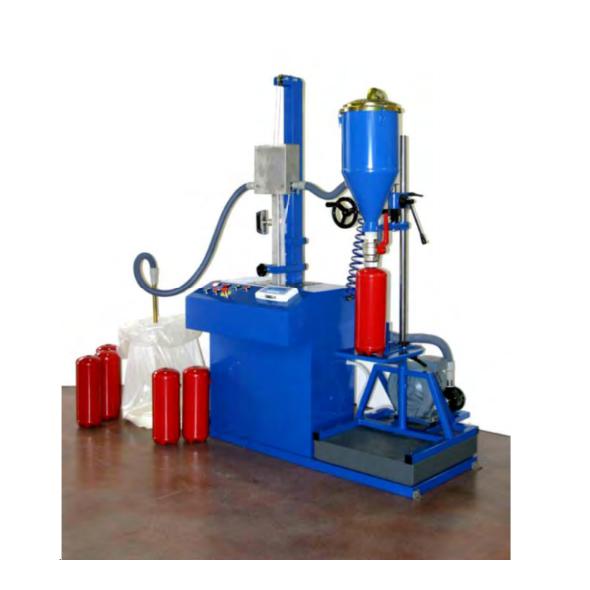 TOTEM MATIC - Dry powder extinguisher automatic transfer unit