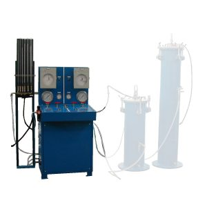 winj72 water expansion pressure testing machine without water jacket.