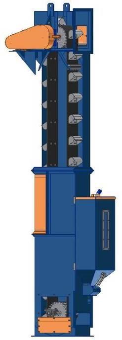 HC 800 - Bucket Elevator