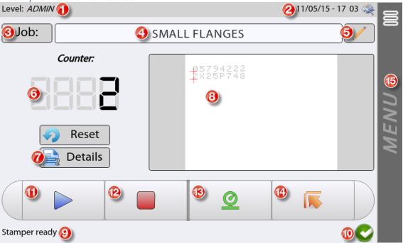 MK3-X80 programming example screen