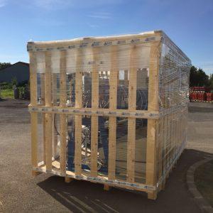 fa keret csomagolás - gázipari gépek