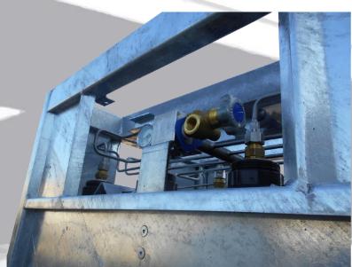 SMIT-NP gas cylinder bundel main valve