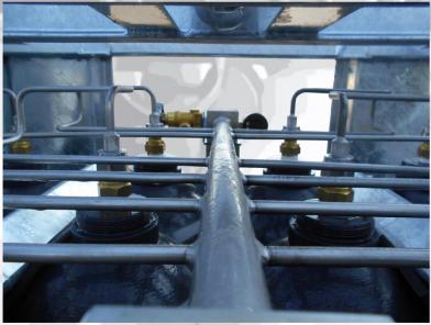 SMIT-NP gázpalack köteg gyűjtőcsövezés 2