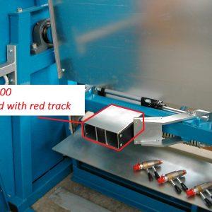 Foot-100 alkatrész FIT50 nyomópadhoz kis átmérőjű gázpalackok nyomáspróbájához