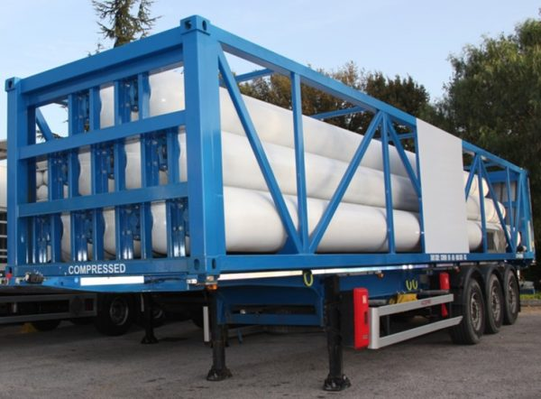 Type C Gas transportation ISO Container metal structure