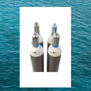 Acél 50 liter gázpalack tengerálló festés