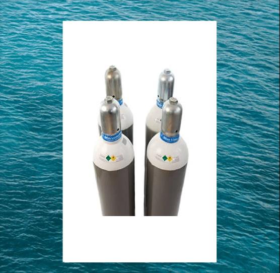 [:hu]Acél 50 liter gázpalack tengerálló festés[:en]Steel 50 liter gas cylinder seaproof paint, 200 bar[:]