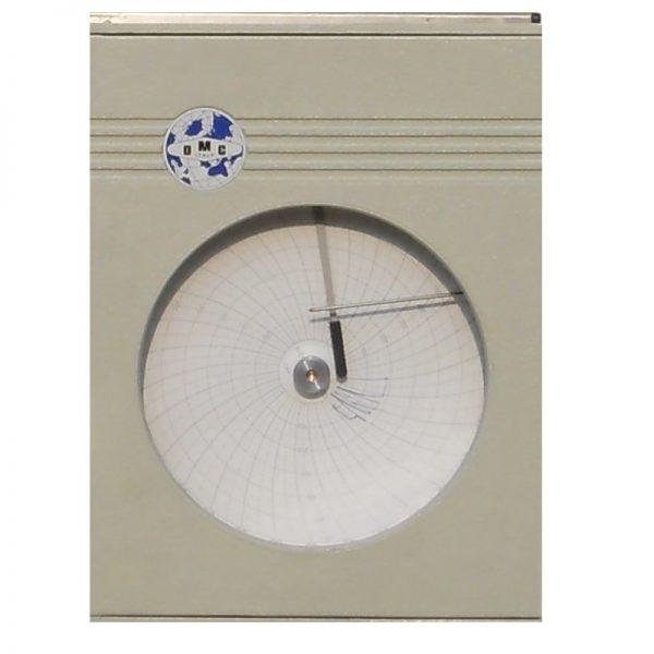 Analóg körkörös nyomsérték regiszter víznyomáspróbához és folyadékokhoz