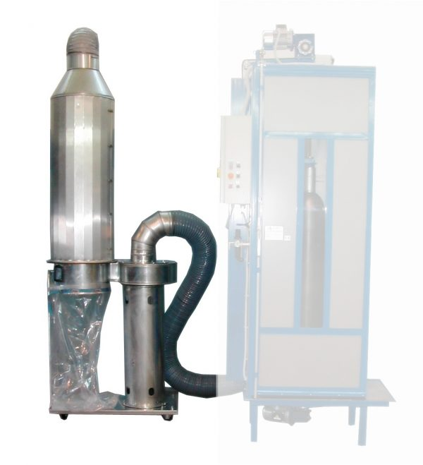 RCP-FILT-RCP-CA - Powder suction for Gas Cylinder Cleaning Equipment RCP 270