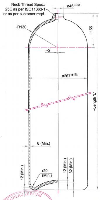 test pressure 200 bar