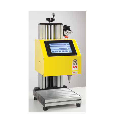 MK3-S70, MK3-S50 benchtop all-in-one marking engraving machine with column