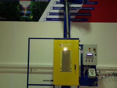 EL60 gázpalackok szelepeléséhez
