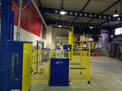 GB MIX keverőgép kémiai oltóanyagok részére FM200, NOVEC