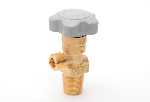 standard brass gas cylinder valve