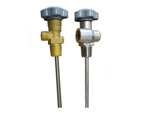 valve with dip tube