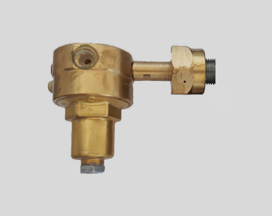 pressure reducer in gas cylinder bundel