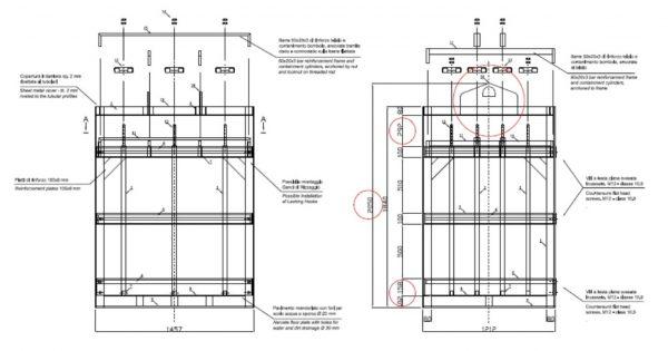 30x50 gas cylinder bundel dimensions