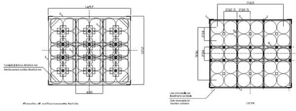 gas cylinder bundle 30×50