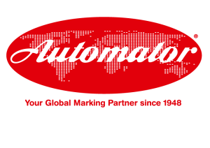 Automator logó fehér háttérrel